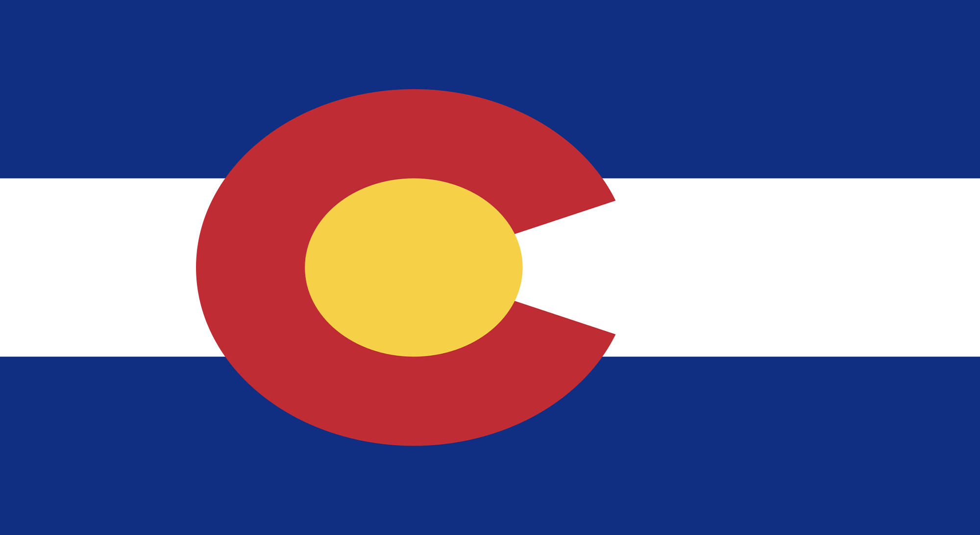 Image of the Colorado flag