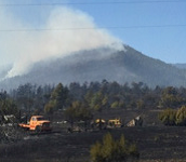 Photo of the Beulah Hill Fire taken by Charla Cook of the Pueblo Association of REALTORS®.