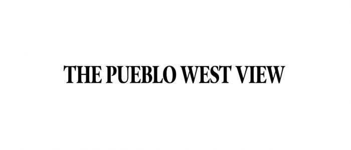 The Pueblo West View Logo