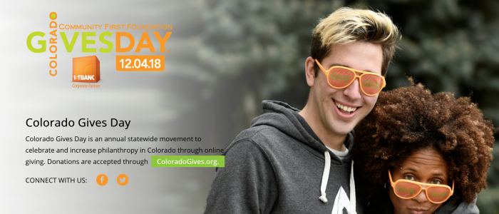 Colorado Gives Day Banner for 2018