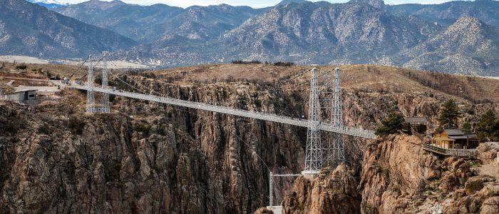 The Royal Gorge Bridge is a tourist attraction near Canon City, Colorado, USA
