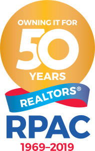 RPAC 50th Anniversary Celebration Logo